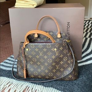 Louis Vuitton Montaigne MM Monogram Bag